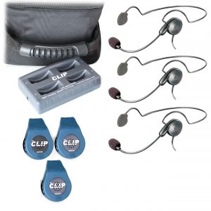 The Clip Wireless Intercom C3CYB