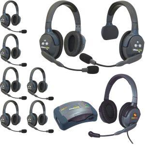 Eartec HUB Wireless Headsets HUB917MXD