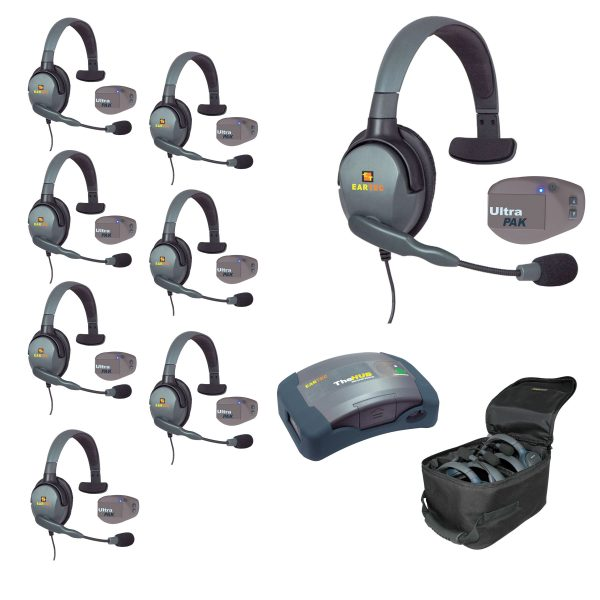 UltraPAK Wireless Headsets UPMX4GS8