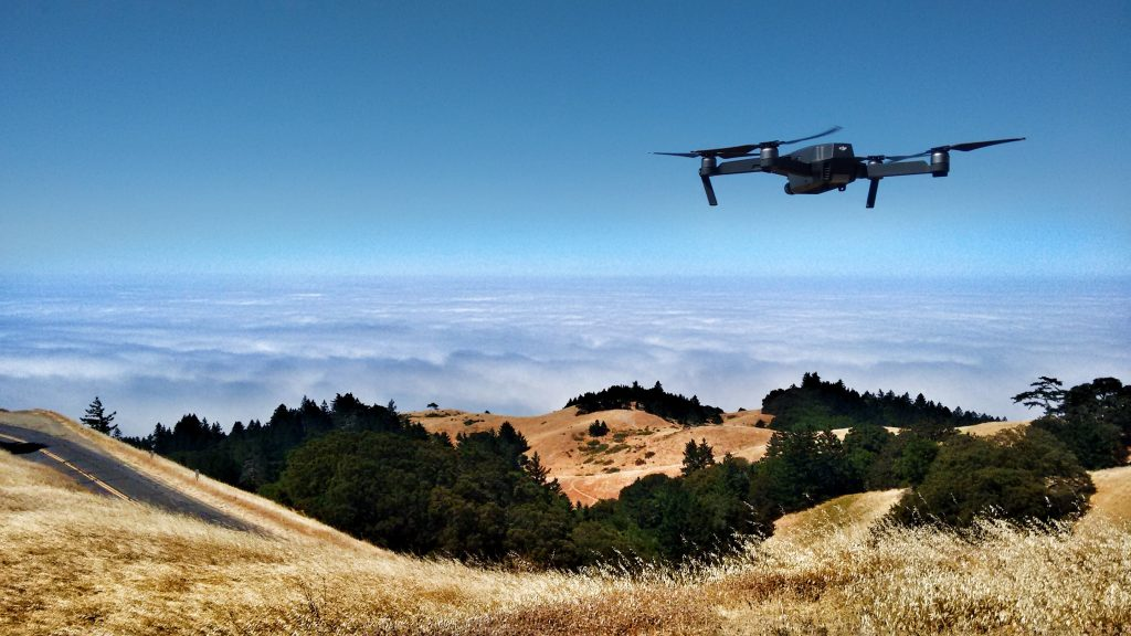 Drone Wireless Headset Communication